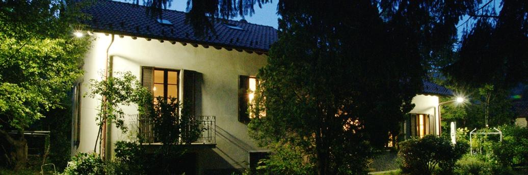 Casa Giacconi nell'ora blu