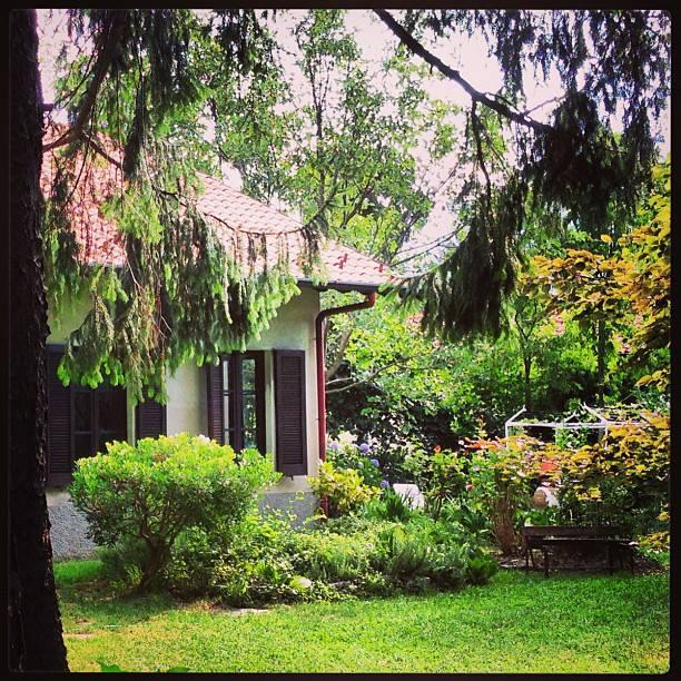Asso, le quattro stagioni: primavera in giardino
