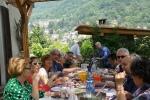 Barbecue, grigliata, forno a legna per gli ospiti di Casa Giacconi Bed and Breakfast a Asso, vicino al Lago di Como