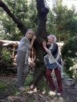 Abbraccio all'albero della vita a Casa Giacconi Bed and Breakfast a Asso, vicino Bellagio